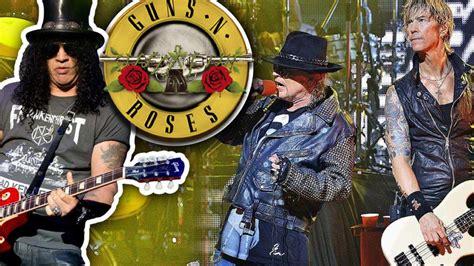 Guns N' Roses' 2016 Lineup Confirmed, Tour Announcement