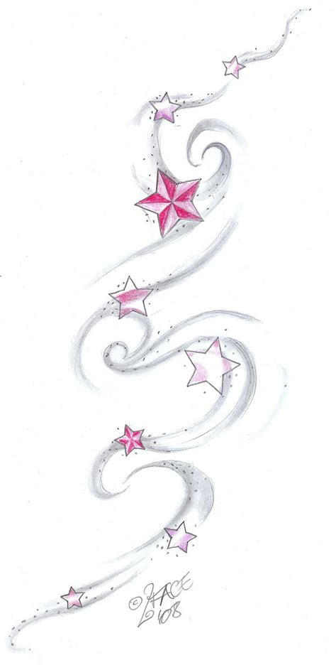 star shading tattoo designs ink sleeve by mildred hewitt