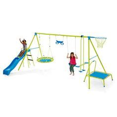 7 station swing set 1000 images about cubby houses on cubby