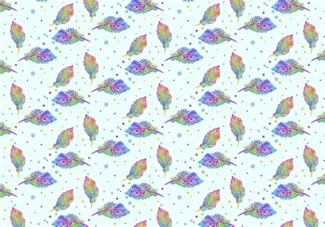 watercolor pattern vector free vector watercolor bohemian feather pattern download