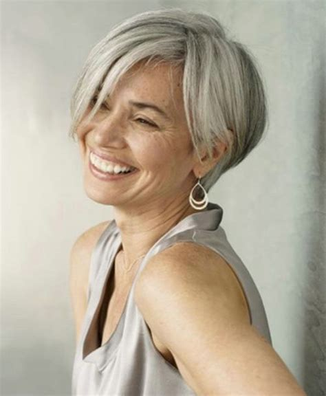stylish cuts for gray hair grey hair styles on pinterest globezhair hairstyles