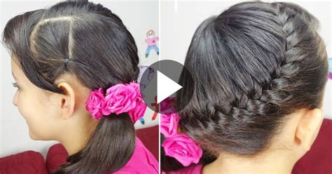 learn easy hairstyles at home learn how to make quick and easy fishtail braid