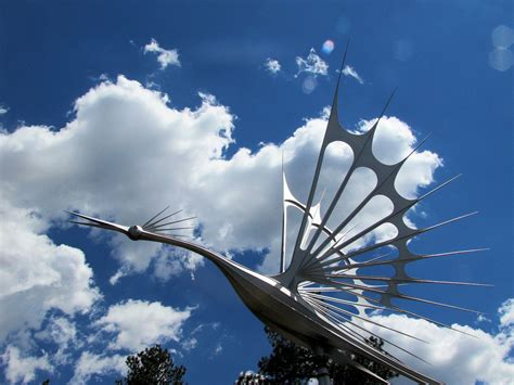 wind art starr kempf s kinetic wind sculptures colorado springs