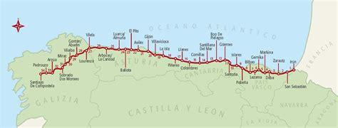 tappe camino de santiago il cammino nord el camino norte