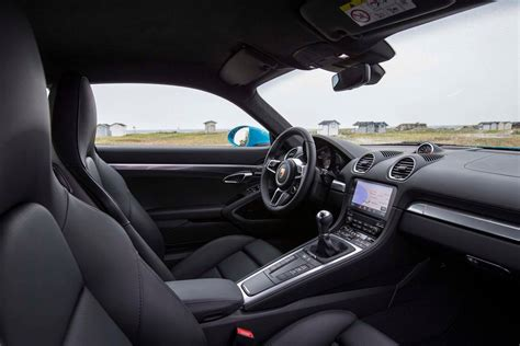 porsche inside view 2017 porsche 718 cayman first drive review performance