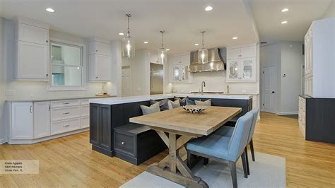 kitchen island bench ideas kitchen island with built in seating nana s workshop