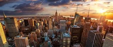 The Empire Of Lights New York City Manhattan City Sunrise Empire State