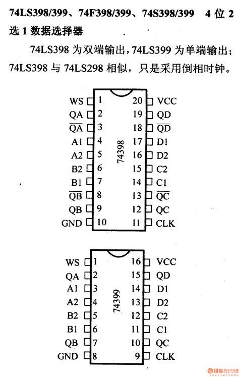 Ic Nte74ls298 Ic 74ls298 74 series digital circuit of 74ls398 399 4 bit 2 to 1 data selector digital circuit basic
