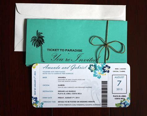 flight ticket wedding invitation uk unique destination wedding airline ticket style invitations