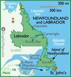 newfoundland canada map images