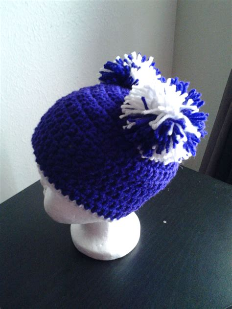 Handmade Crochet Hats - baby pom pom handmade crochet hat purple hats