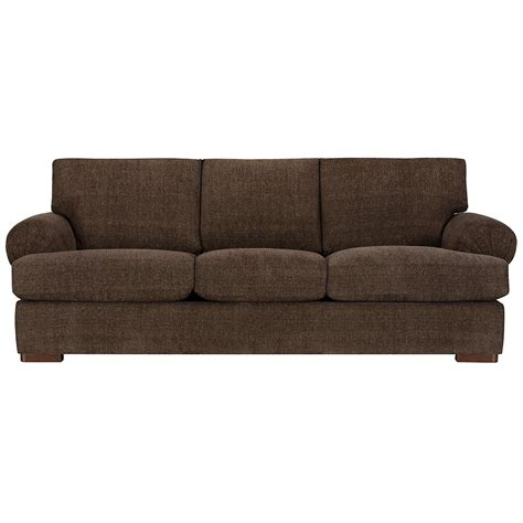 city furniture belair dk brown microfiber sofa