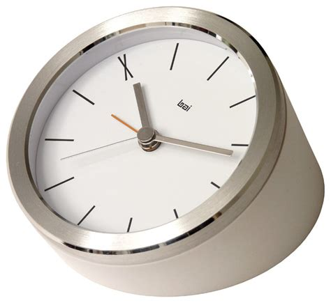 modern alarm clock design blanco executive alarm clock ten contemporary alarm clocks by bai design inc