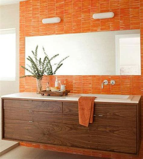 bathroom orange 40 orange bathroom tiles ideas and pictures