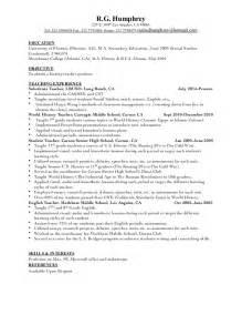 history resume