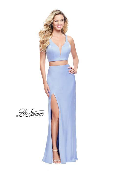 Blue Dress 25919 la femme 25599 la femme