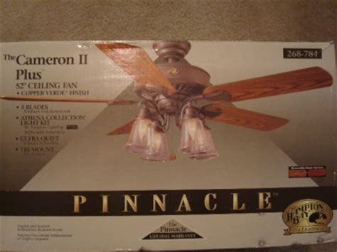 Cameron Ii Plus Ceiling Fan - hton bay cameron ii plus 52 inch ceiling fan
