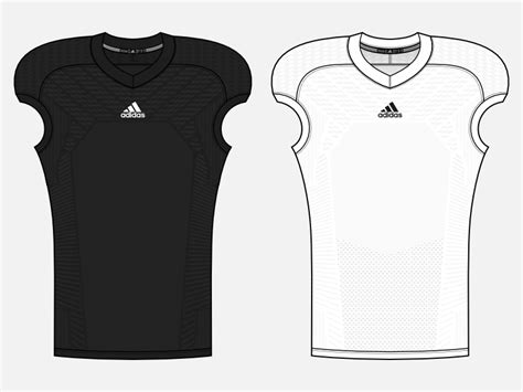 Adidas Template V2 By Chris Clement Dribbble Adidas Hockey Jersey Template