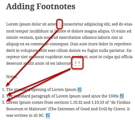 What Does A Footnote Look Like In An Essay by How To Create Footnotes In