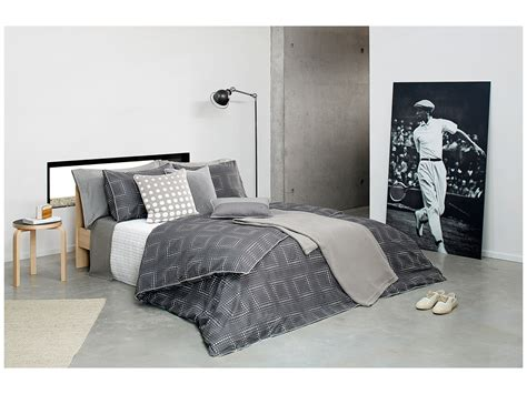 lacoste comforter lacoste yantze twin comforter set pewter shipped free at