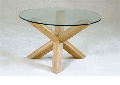glass coffee table wood base unique coffee tables