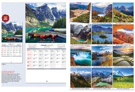 desain kalender dinding 2018 kalender dinding 2018 desain executive ao blangko