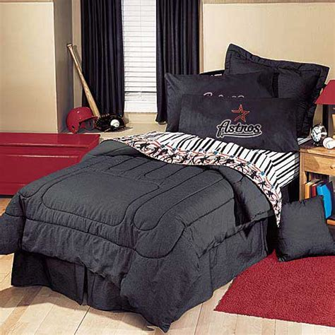 bed linens houston houston astros team denim comforter sheet set
