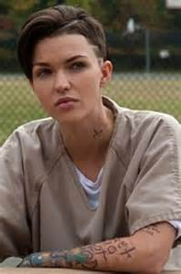 stella orange is the new black danielle cormack praises ruby rose for nude shower scene