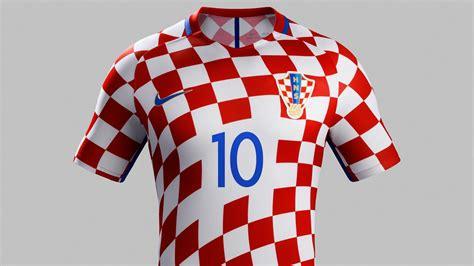 Jersey Prancis Away Cup 2016 croatia 2016 kits released footy headlines
