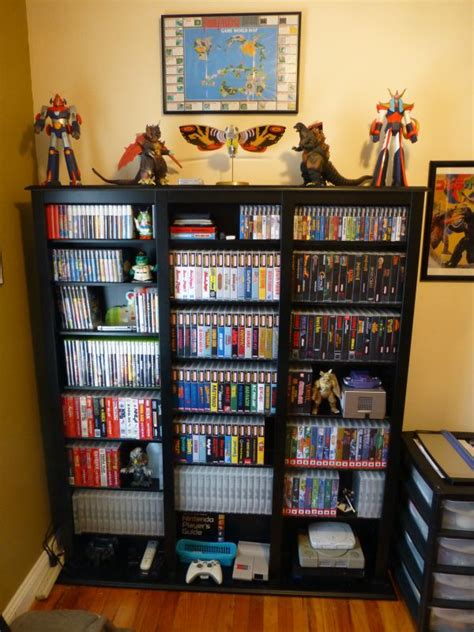 game storage ideas my video game room cool pinterest
