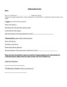 Authorization Letter To Collect Cheque Sle Letters Archives Page 9 Of 12 Sle Letter