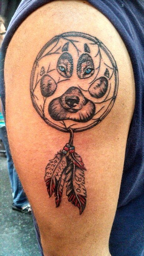 wolf and dreamcatcher tattoo wolf dreamcatcher ultimate arts wisconsin