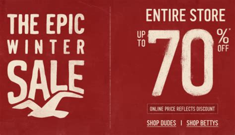 hollister outlet printable coupons hollister canada the epic winter sale entire store up to