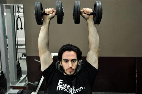 d 233 velopp 233 assis avec halt 232 res dumbbell shoulder press fitness heroes
