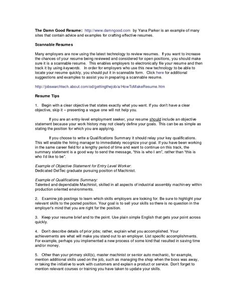 resume qualification exles resume qualifications and