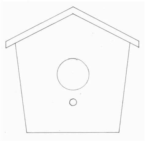 birdhouse templates cards pennyster birdhouse card ornament
