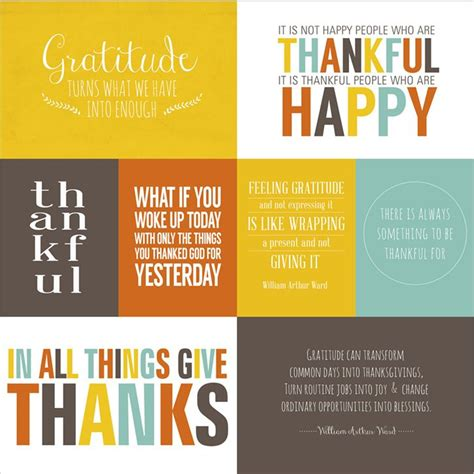 printable gratitude quotes give thanks printable quotes collection simple