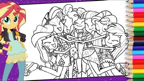 my little pony eg coloring pages my little pony equestria girls coloring pages mlp eg