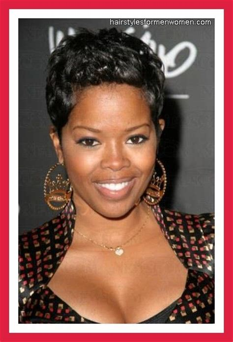 short hair styles worn by malinda williams malinda williams short hair pinterest malinda williams