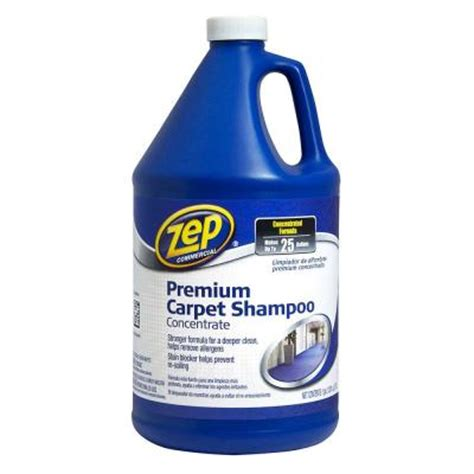 Home Depot Rug Cleaner by Zep 128 Oz Premium Carpet Shoo Zupxc128 The Home Depot