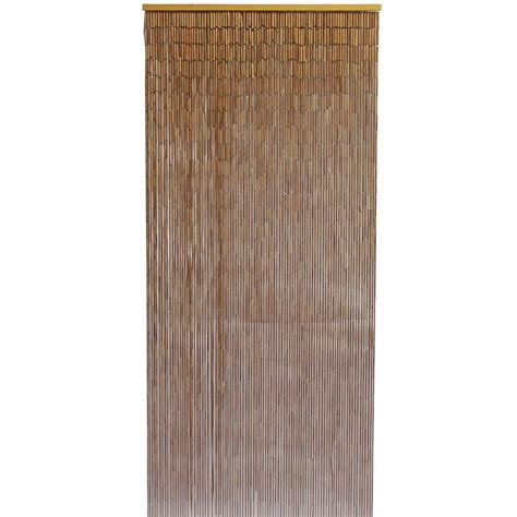 Bamboo Door Curtains Bamboo Door Curtain With Galvanized Wire 90x200cm Ebay