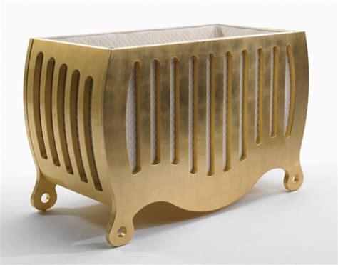 golden baby crib gold cribs project nursery