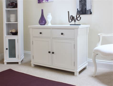 White Sideboard Furniture new solid white painted furniture small sideboard