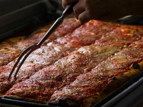 Spumoni Gardens Pizza by Best Pizza Restaurants In New York City Food Network