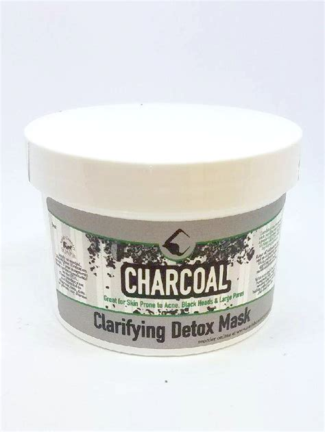 Activated Charcoal Detox Mask by Charcoal Detox Mask 3oz Amish Country Soap Co