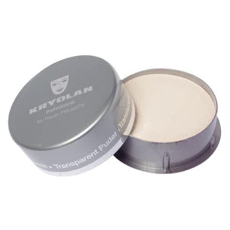 Translucent Powder screenface kryolan translucent powder