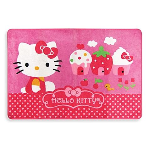 hello kitty bathtub hello kitty 174 bath rug from ginsey from buy buy baby