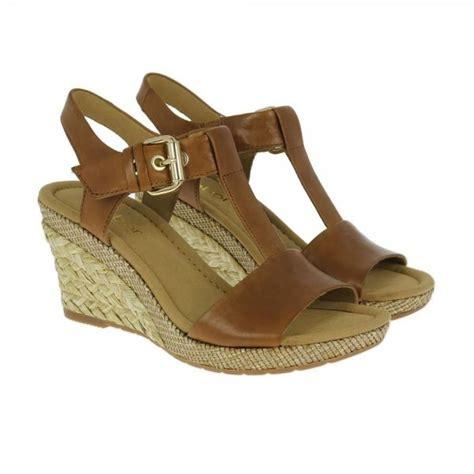 Sandal Wedges Ym08 Hitam 42 42 824 54 leather wedge sandal
