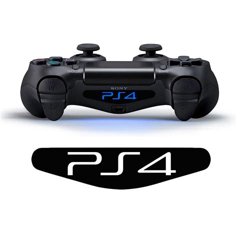Ps4 Controller Light by Ps4 Logo Controller Light Bar Decal Sticker Supergraphictees