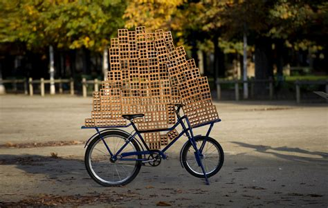 zamora designboom hector zamora stacks mud brick lattice atop brazilian bikes